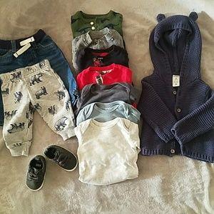 Carter's Bundle Baby Boy Clothes